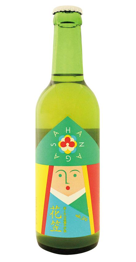 花笠「幻のキラリモチ もち麦発泡酒」